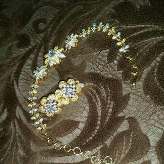 bracelet with earrings