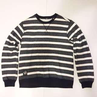🚚 LRG 條紋 刷毛 衛衣