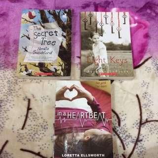 (FREE) Scholastic Novels