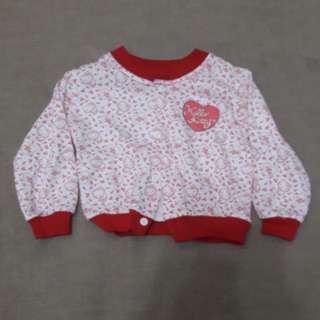 Hello Kitty Baby Sweater Cardigan