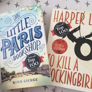 Little Paris bookshop and To kill a mockingbird