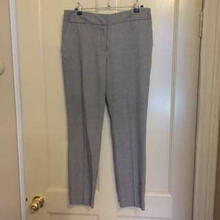 CUE Mid Waist Work/ Dress Pants (size 8)