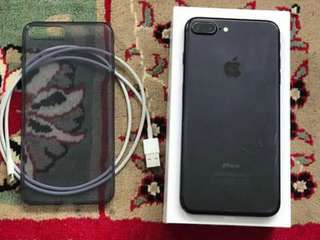 Iphone 7 + 128gb Black