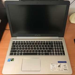 【ASUS】K501LX-0041A5500U 15.6吋 i7-5500U FHD128G SSD 筆電 電競 繪圖