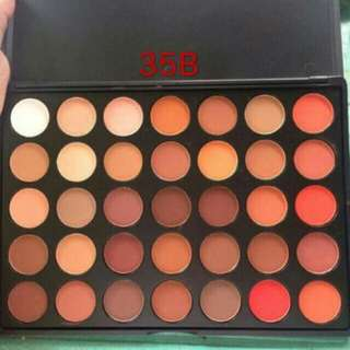 Authentic MORPHE 35 colors eyeshadow palette