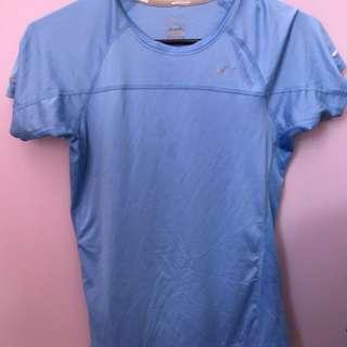 Blue Nike Running Shirt