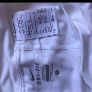 White Nike Skirt