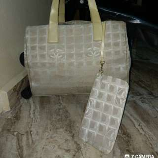 Tote x Coin Bag Chanel