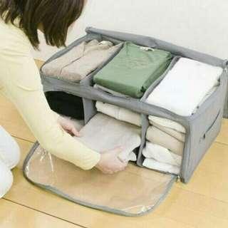 Foldable cloth organizer