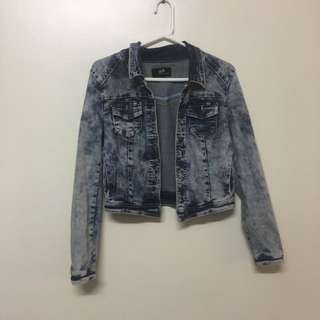 Dotti Denim Jacket Size 10