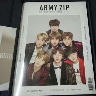BTS 4th term ARMY Photobook #freepostage
