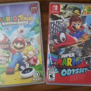 Nintendo Switch - Mario Games