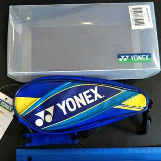 YONEX TENNIS BAG KEYRING (Holds Keys, Money etc)