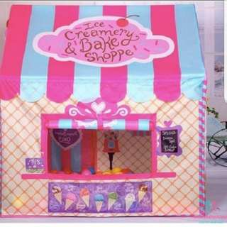 In Stock! Lovely Play Tents for Girls Kids Pretend Play Role Play