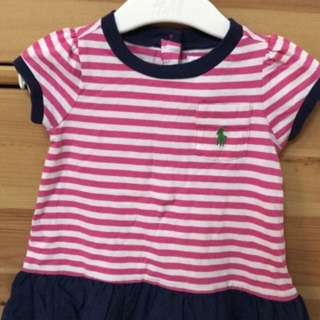 Authentic Brand New Ralph Lauren (3m) Cotton adress
