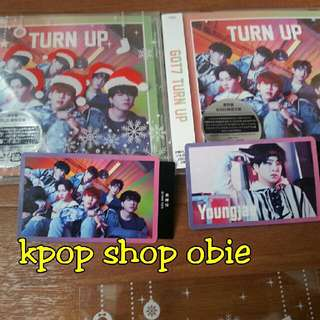 WTS UNSEALED GOT7 ALBUM (FREE CASE COVER + FLYER)