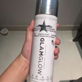 GlamGlow mud to foam daily clearing cleanser