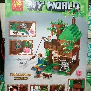 Mine Craft Lego (Biggest Size)