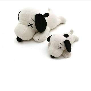 Uniqlo KAWS X Peanuts Snoopy Plush