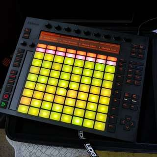 Ableton Push 1 with UDG case