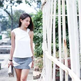 Love Bonito Bedelia Bodycon Mini Skirt (S)