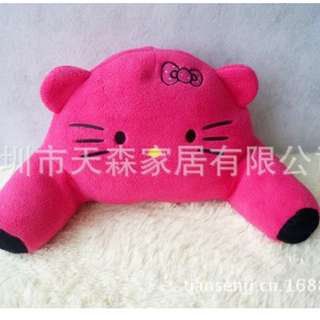 Xmas gift- hello kitty backrest Cushion for office