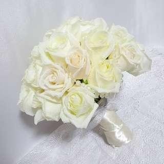 Snow White Wedding Bouquet