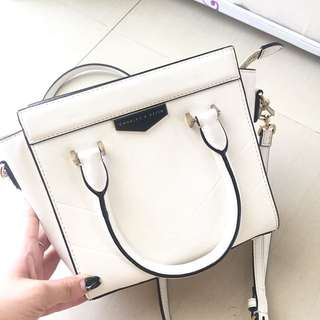 Charles and keith (size M, white)