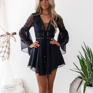 ALYSE Dress (Navy)