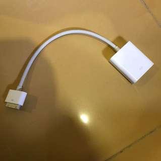 iPhone 4/5 or iPad adaptor to VGA