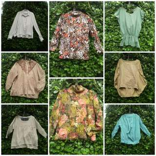 8pcs Blouses For Only P200!