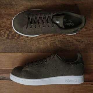 Adidas Stan Smith Rare Waxy Camo - Olive Green