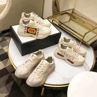 Gucci Rython Vintage Trainer Sneakers