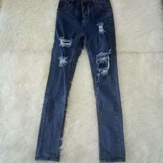 Cln jeans ripped