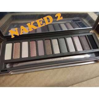 全新 最暢銷 美國 Urban Decay  Naked2眼影 組合 12種 祼色 Naked祼妝系列 自然妝效、煙燻眼妝