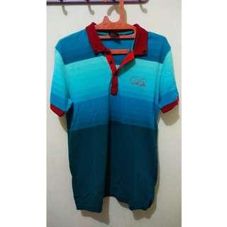 Baju Polo hawaii colour