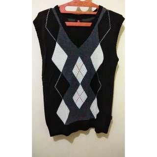 Sweater Rompi Rajut