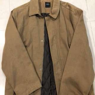 復古駝色外套、衣服太多所以出清、胸48肩45長75䄂60