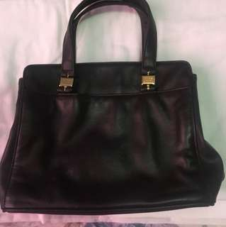 JENNIFER MOORE HANDBAG DARK BROWN