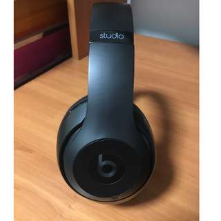 PERFECT CONDITION - USED ONCE! Beats Studio Wireless Special Edition Matte Black!