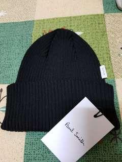 🚚 全新品Paul Smith黑色針織帽
