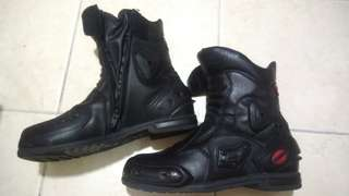 Komine waterproof Riding touring Boots shoe