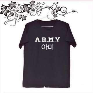 BTS Army Fan Uzzlang Shirts