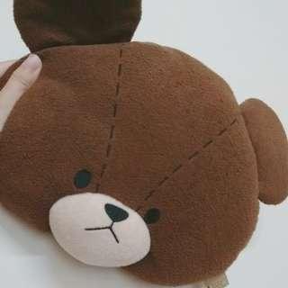日本購回 正版小熊學校 枕頭 抱枕 小熊學校 Jackie 娃娃 bears school