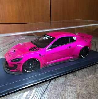 Autobarn LB Performance Maserati Granturismo flash pink