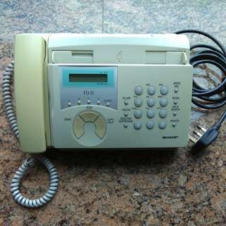 Fax and Tel 機(兩用)