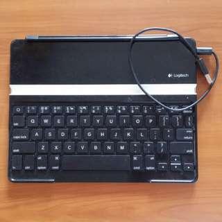 Logitech (鍵盤) keyboard for ipad