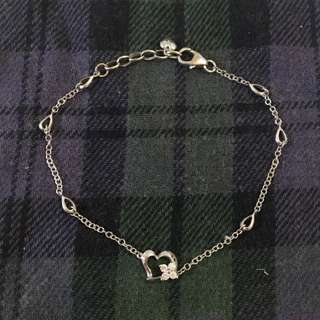 Mabelle 18K 750 心心 花花 8份 鑽石 手鏈 diamond bracelet