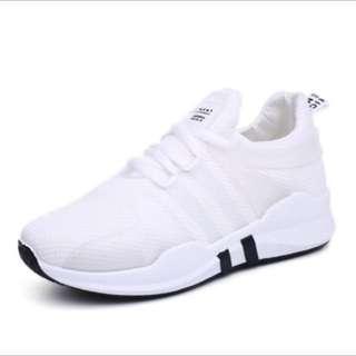 BN Women white running shoes