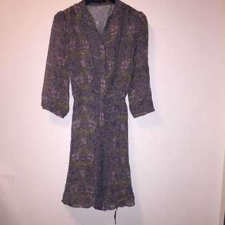 23區~100%絹七分袖洋裝